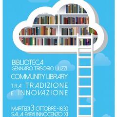 Presentazione progetto Biblioteca di Spinazzola
