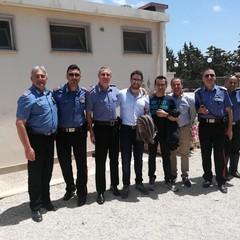Il congedo del Tenente dei Carabinieri Giosuè Bonfardino