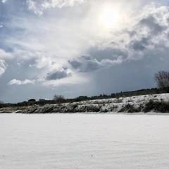 maltempo con neve e gelo