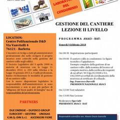 Locandina evento febbraio