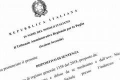 """De Mucci (FI Bat): """"Il Giudice amministrativo ha rigettato il ricorso circa l'annullamento delle elezioni provinciali"""""""