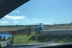 Operazione dei Carabinieri, impegnato elicottero