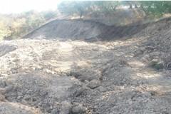 """Sbancamento di terra e distruzione di vegetazione a """"La Palata"""""""