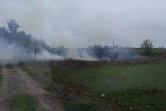 Incendio a pochi chilometri dal Castel del Monte