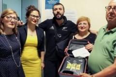 Donato il defibrillatore all'ambulatorio Asl/Bt di Spinazzola