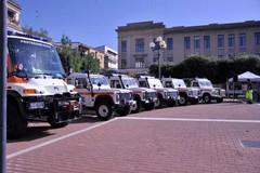 Il Ser all'inaugurazione delle attrezzature d'assistenza per calamità naturali