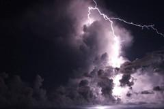 Protezione civile: allerta temporali su tutta la regione