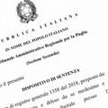 """De Mucci (FI Bat):  """"Il Giudice amministrativo ha rigettato il ricorso circa l'annullamento delle elezioni provinciali """""""