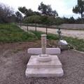 Torna in funzione la fontanina ai piedi del Castel del Monte