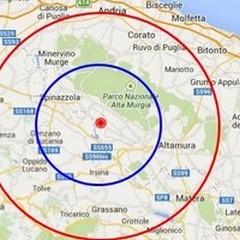 Scossa di terremoto a Spinazzola