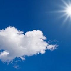 Cieli sereni ed in prevalenza poco nuvolosi, temperature gradevoli