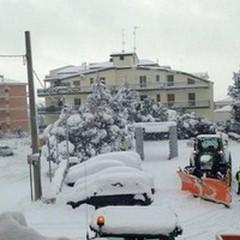 Incessante tempesta di neve