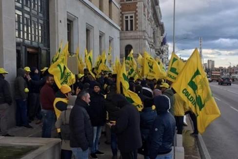 Protesta agricoltori di Coldiretti