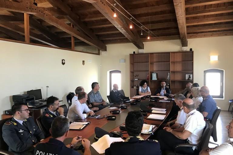 Riunione comitato operativo della viabilità Prefettura