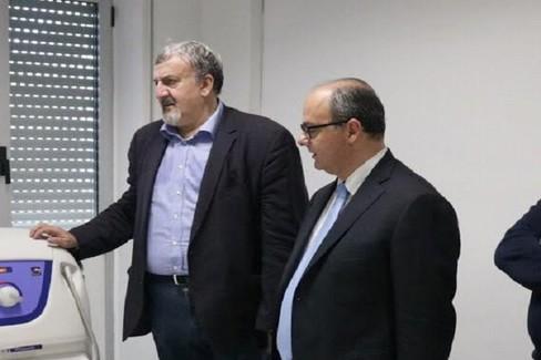 Michele Emiliano ed Alessandro Delle Donne
