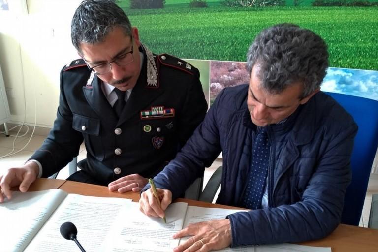 Firma accordo Parco Nazionale dell'Alta Murgia