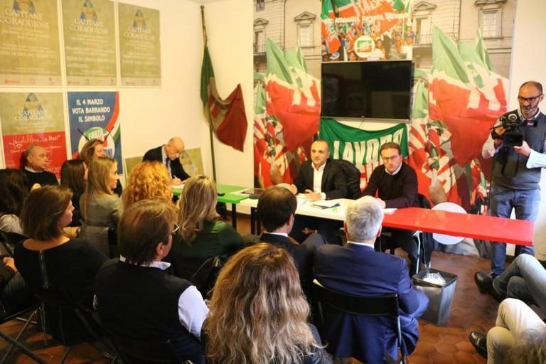 riunione di Forza Italia
