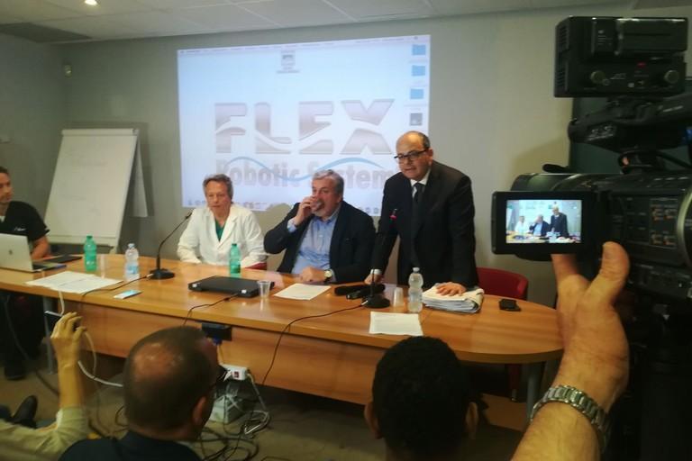 La robotica diventa flessibile ed approda per prima in Italia nella Asl/Bt
