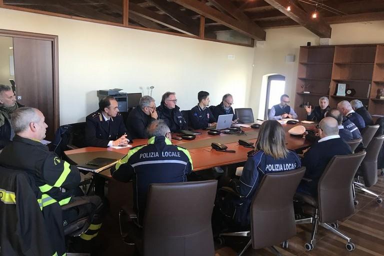 Riunione protezione civile