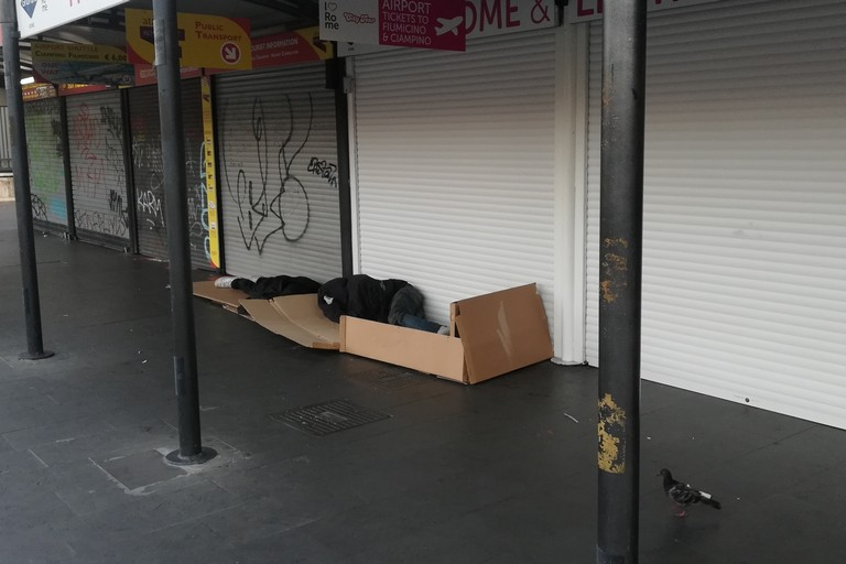 miseria povertà (Foto Vincenzo Cassano)
