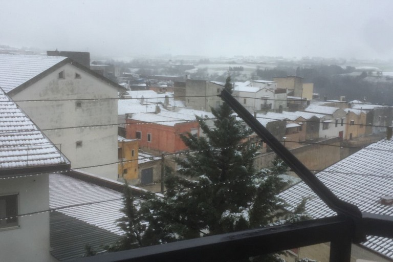 Torna la neve a Spinazzola