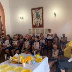 La pedalata culturale da Milano a Matera ha fatto tappa a Spinazzola