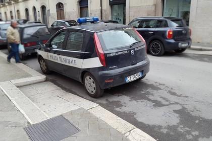 Autovettura di servizio Polizia Locale