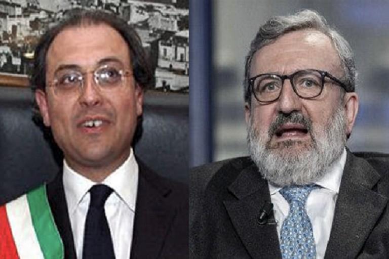 Nicola Giorgino e Michele Emiliano