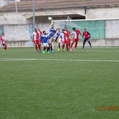 La Nuova Spinazzola impatta 1-1 contro l'Audace Barletta