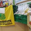 La spesa solidale di Legambiente per le famiglie di Spinazzola