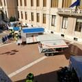 Evacuato il plesso Mazzini De Cesare: la simulazione di un evento sismico