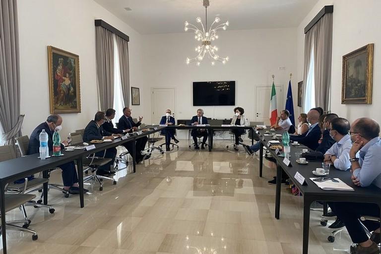 Riunito in Prefettura il primo comitato provinciale per l'ordine e la sicurezza pubblica della BAT
