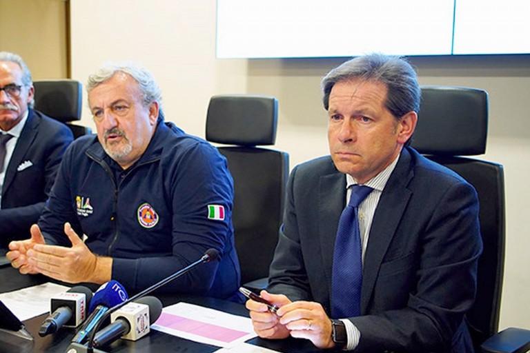 Vito Montanaro e Michele Emiliano