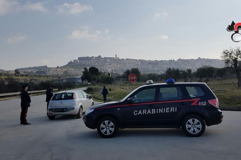 Carabinieri a Minervino