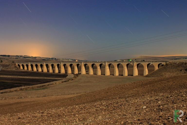 Ponte dei 21 archi sulla Gioia-Rocchetta