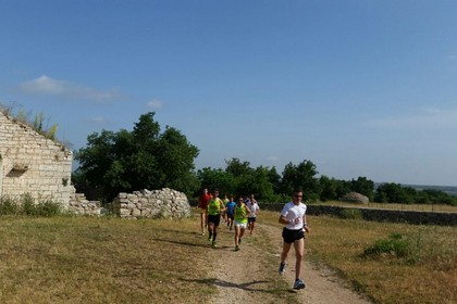 Corsa nel Parco dell'Alta Murgia